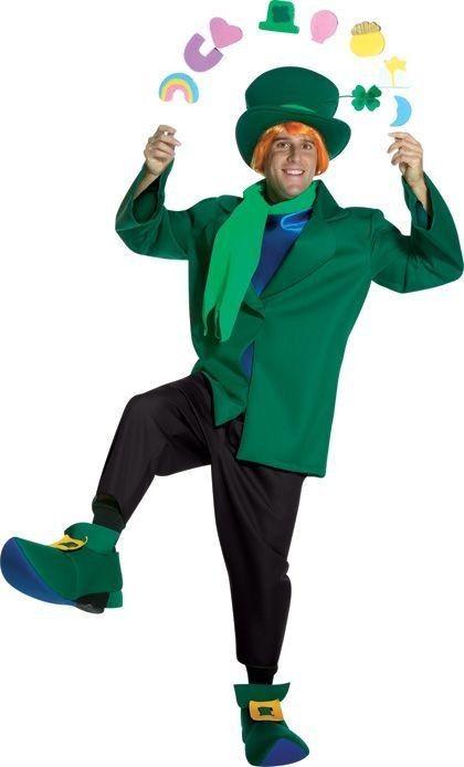 LUCKY CHARMS JIG / Leprechaun Costume Uncle O\u0027 Jack Pinterest - green dress halloween costume ideas