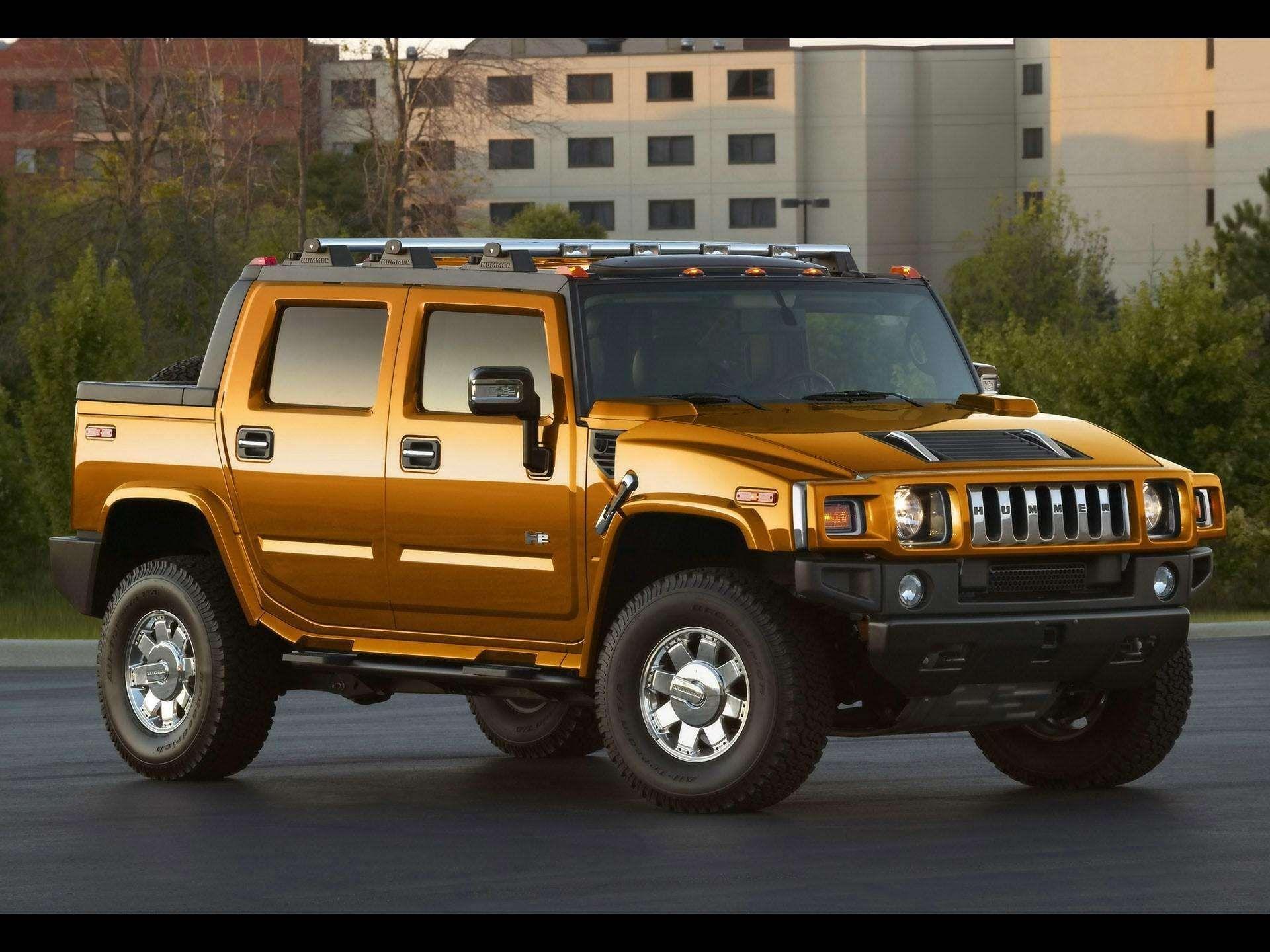 Hummer-H13-Golden-Color-Car-hd-wallpaper | Hummer HD ... | golden hummer