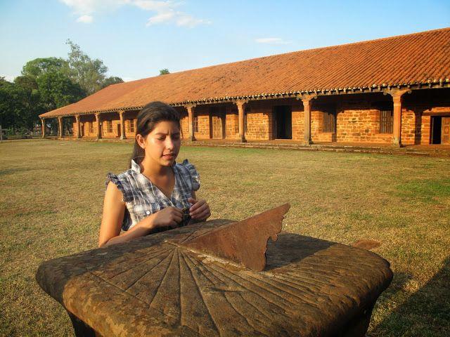 Por Tierra Por La Tierra San Cosme Y Damián El Observatorio De Los Jesuitas Http Portierraporlatierra Blogspot Asuncion Paraguay El Observatorio Paraguay
