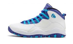 5e0ea259b2a3bb Mens Nike Air Jordan 10 Retro Charlotte Hornets City Pack London Rio OVO  310805 107 Boy