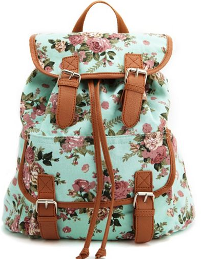 f5a8f5a26015 Cute Backpacks All Over Campus | Fashion | Cute backpacks, Floral ...