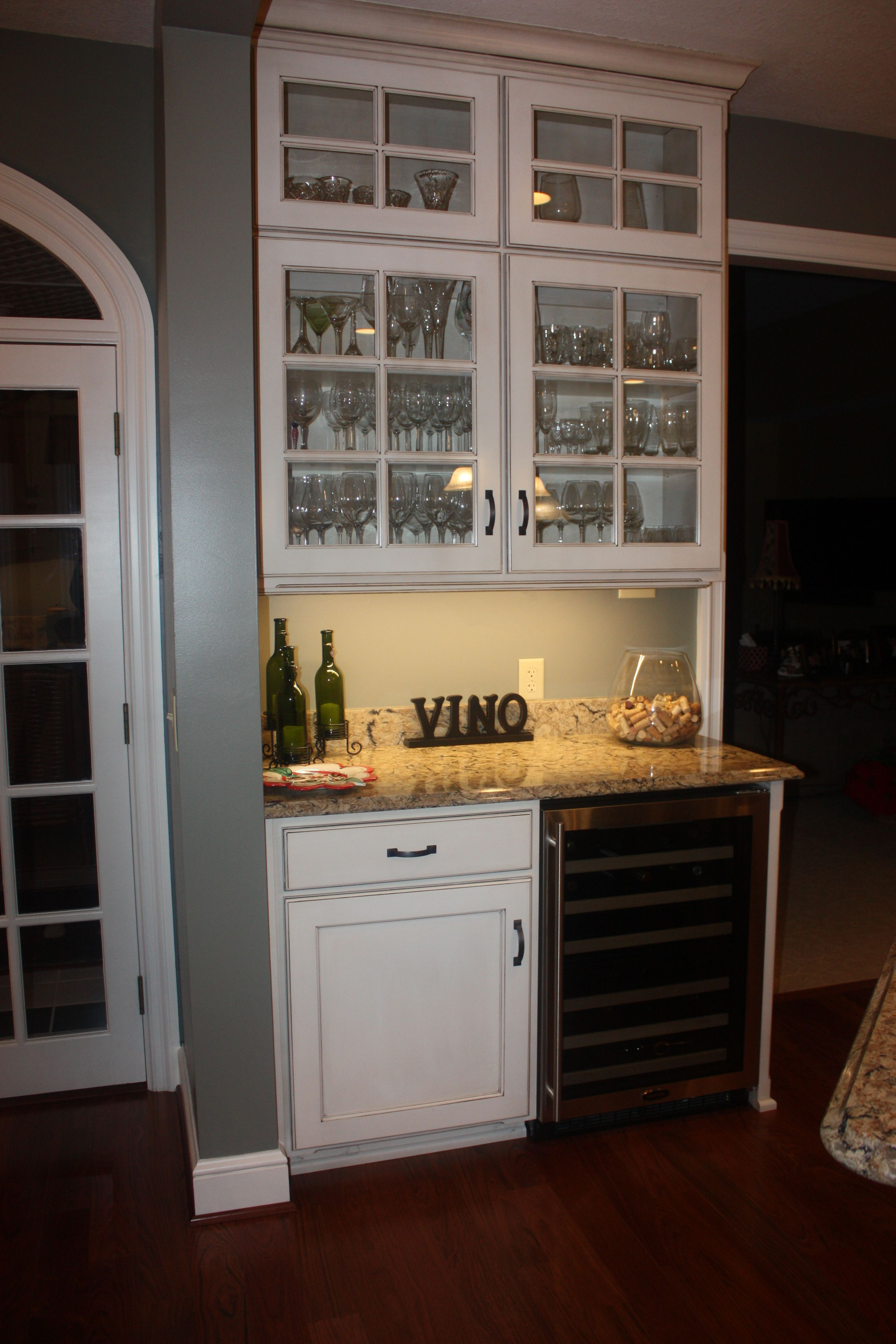maple dry bar  kitchen cabinets home decor