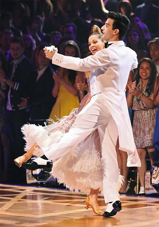 Candace Cameron Bure Dancing With Stars Candace Cameron Bure And Mark Ballas Dance The Quickstep Candace Cameron Bure Mark Ballas Dancing With The Stars Pros