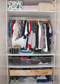 Crafted Spaces: Home Organization Challenge: Closets