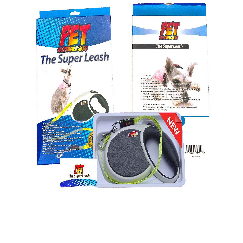 amazon com pet superheroes dog retractable leash best dog