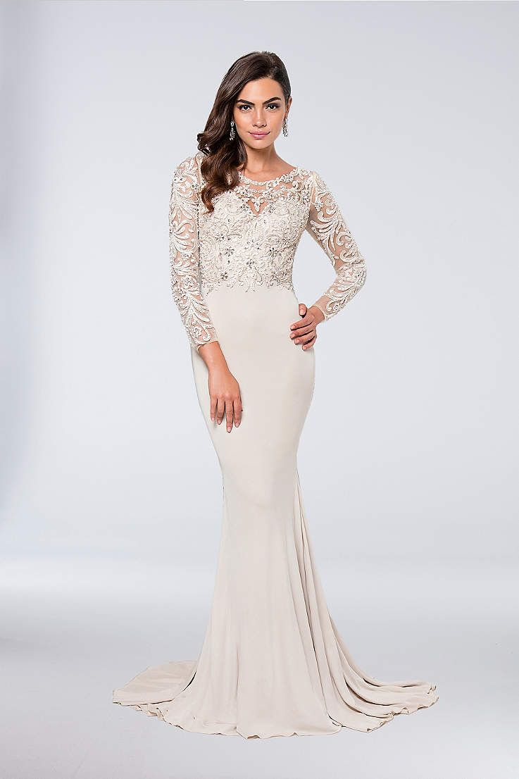 Small wedding dresses  View Long Terani Couture Dress at Davidus Bridal  Wedding