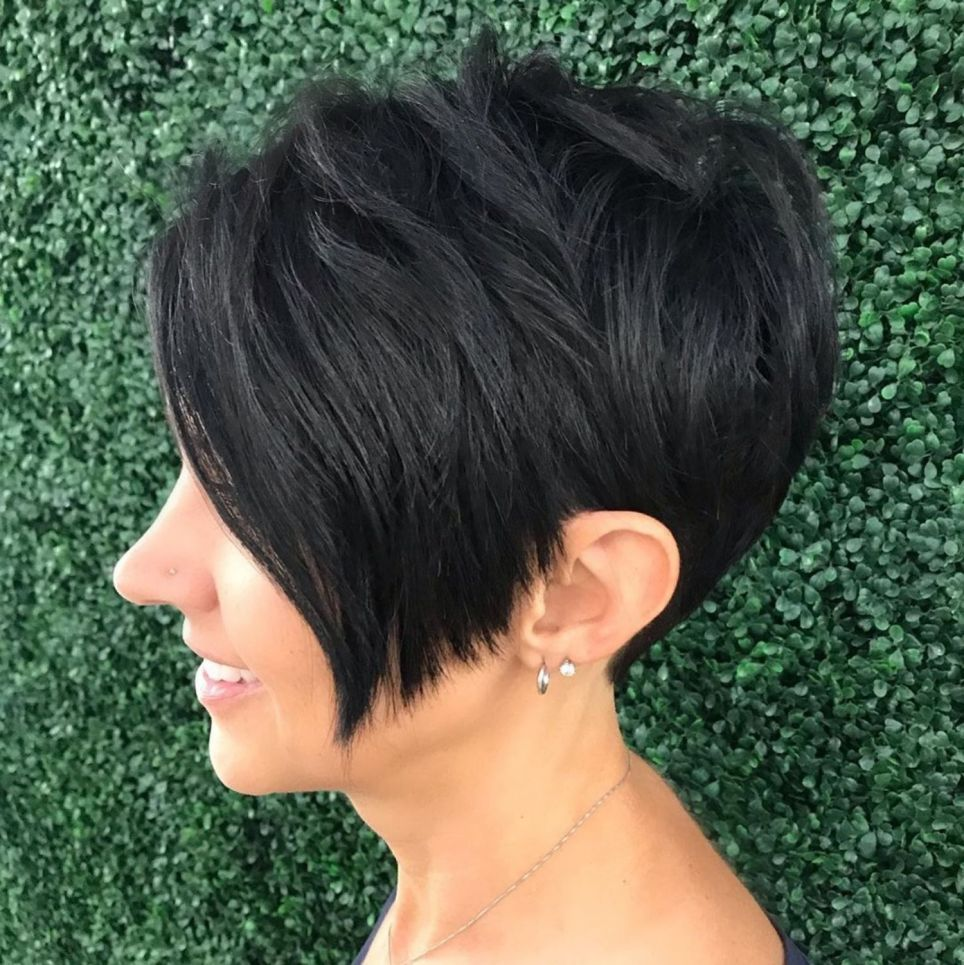 Tapered Pixie For Thick Coarse Hair In 2020 Haircut For Thick Hair Thick Hair Styles Pixie Haircut For Thick Hair