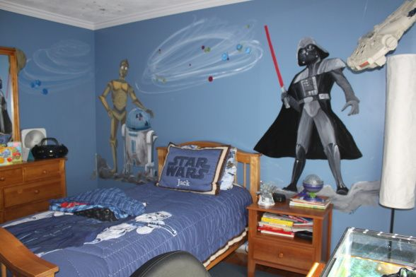 10 year old boy bedroom ideas to inspire you in designing for Boys star wars bedroom ideas