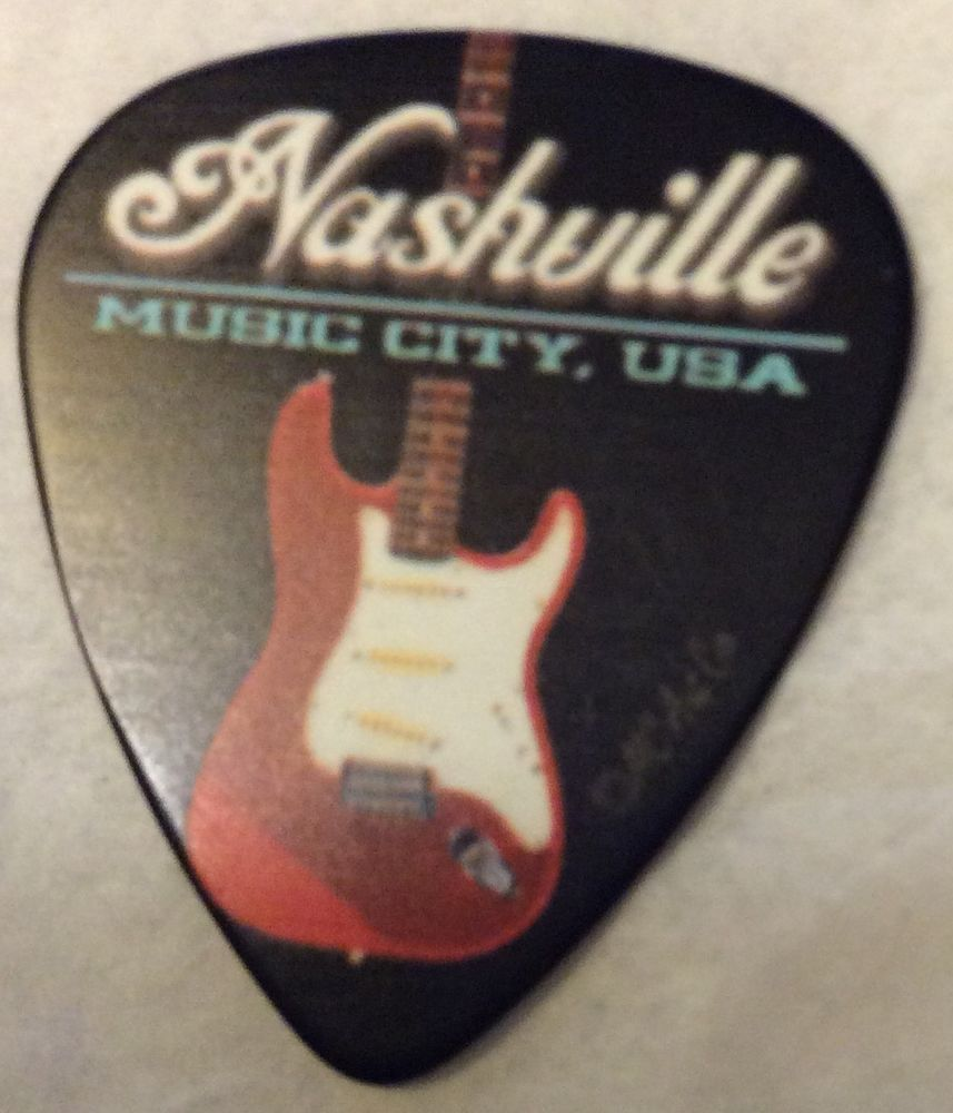NASHVILLE (12PS) GUITAR PICK GREAT FOR FAVORS, LITTLE