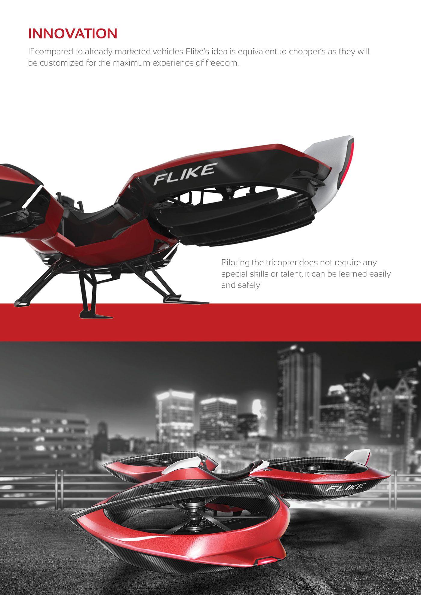 manned drone flight