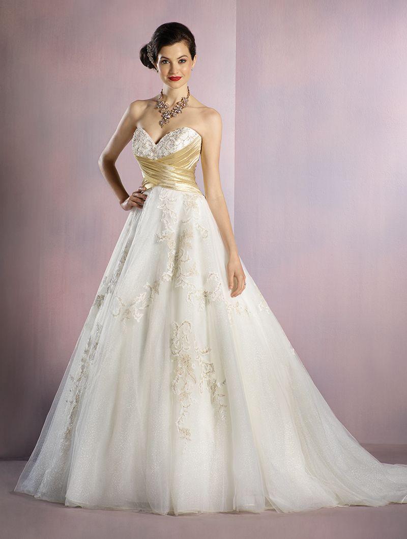 Wedding gown by Disney Fairytale Weddings by Alfred Angelo | Elegant ...