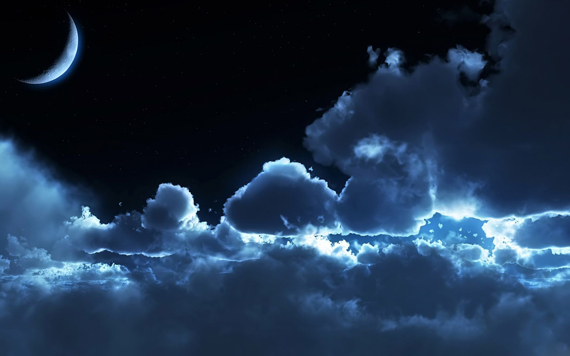 Wallpaper Download 30 Best Windows 7 Wallpapers Hd Collection Fraakz Night Clouds Night Sky Wallpaper Cloudy Nights
