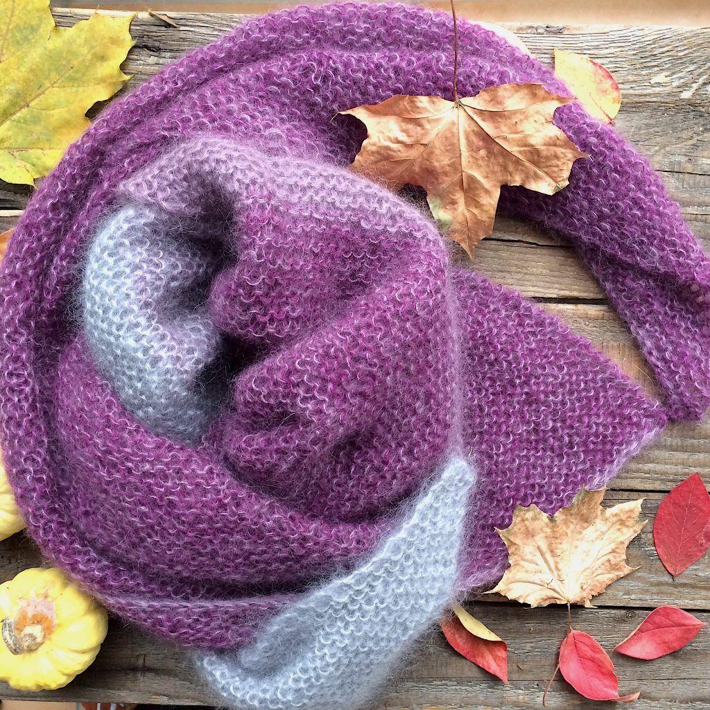 dreieckstuch knit knit berlin silkycloud anleitung stricken. Black Bedroom Furniture Sets. Home Design Ideas