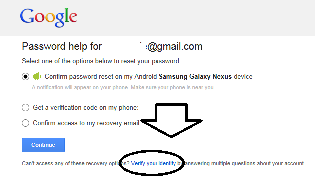 How Can I Recover My Google Account Without My Password Or My