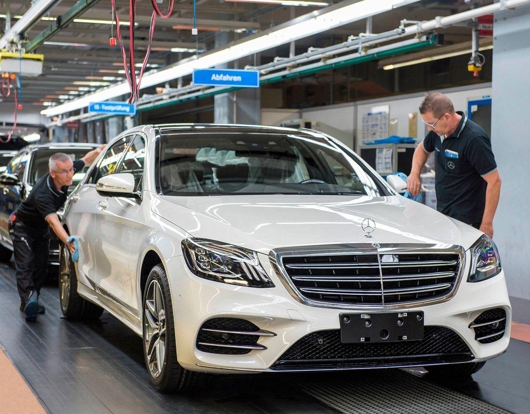 "MercedesBenz Kundencenter on Instagram ""Produktionsstart"