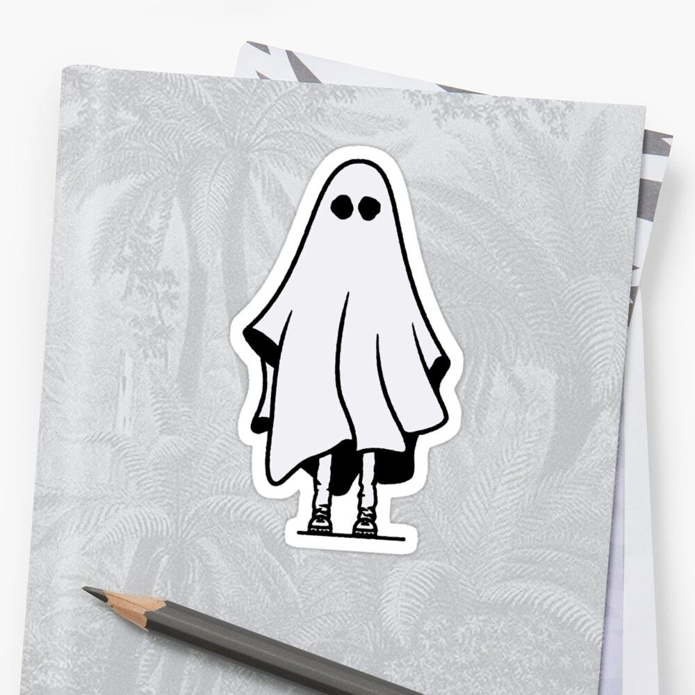 Creepy Ghost Sticker Tears Falling Down At The Party Sticker By Ninacoladaa Creepy Ghost Ghost Pictures Ghost