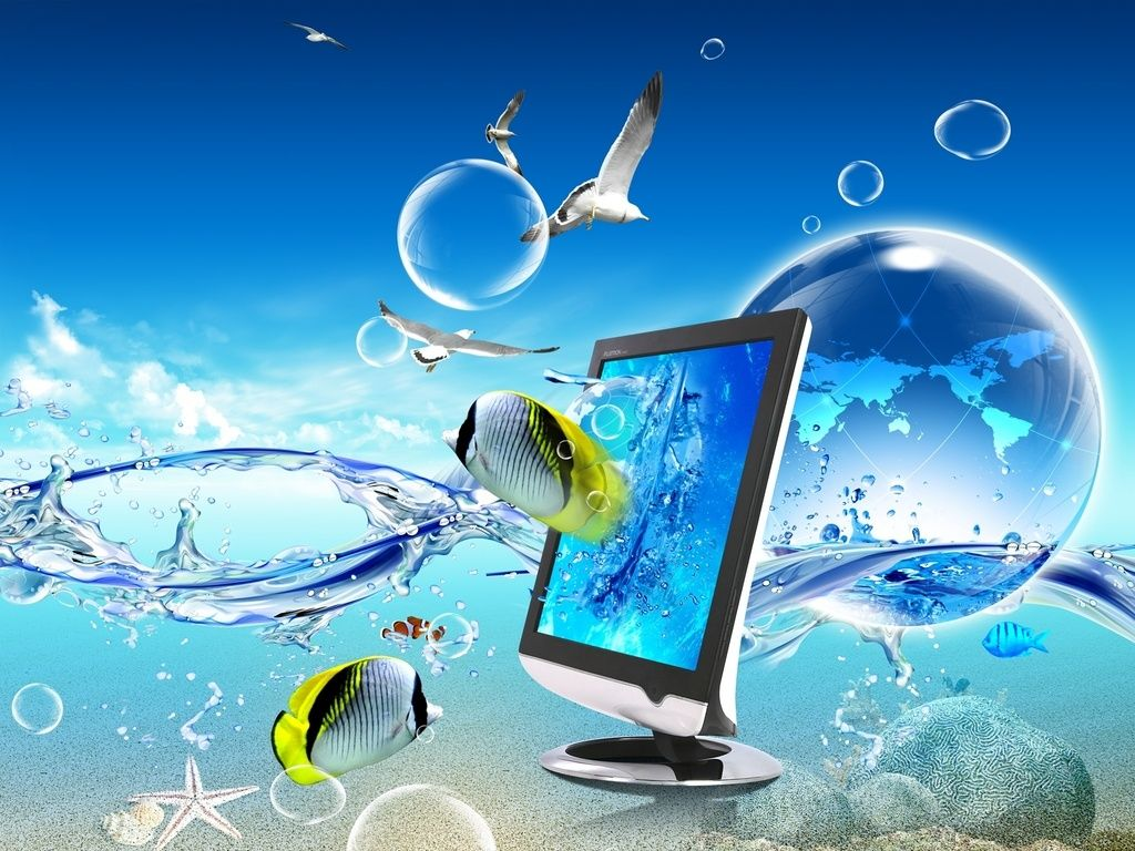 3d Computer Desktop Free Wallpaper See More Beautiful Background Images For Video At Backg Beautiful Wallpaper Hd Underwater Wallpaper Live Wallpaper For Pc