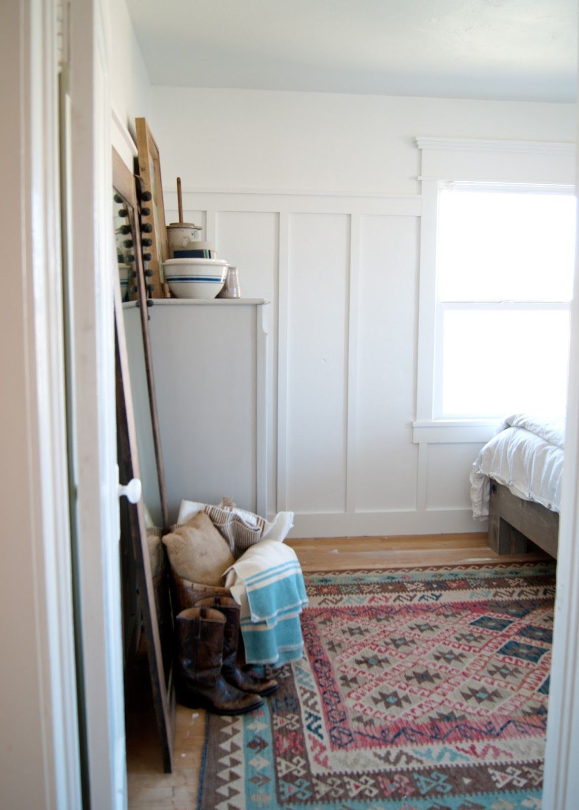 Joanna gaines master bedroom paint colors  Farmhouse Master Bedroom Reveal  One Room Challenge  Farmhouse