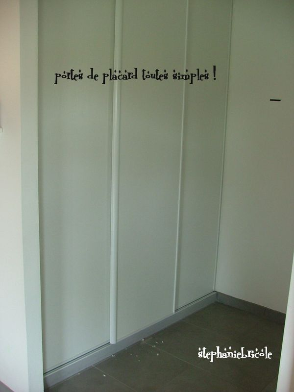 comment décorer des portes coulissantes de placard - Recherche