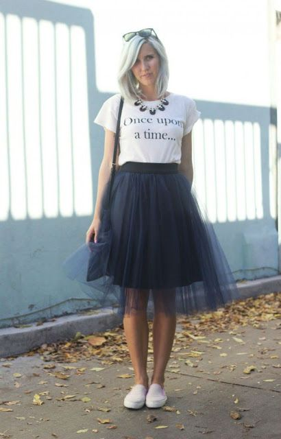 401bb8d940 40 Formas de usar tu Tulle Skirt o Falda de Tul