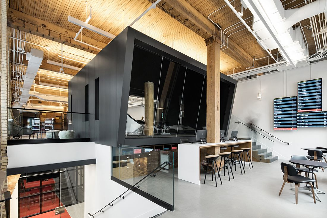 A Tour of Flight Centres Super Cool Toronto Office Downtown