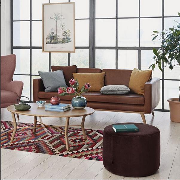 Sofacompany Com Brings You Danish Designed Original Furniture No 9 Footrest In Avanti Mocca Thora Coffee T Furniture Coffee Table Outdoor Furniture Sets