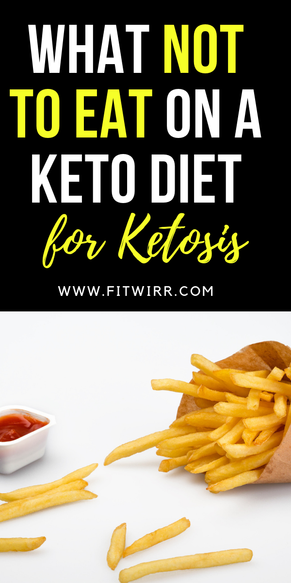 7 Foods You Should Absolutely Avoid on a Ketogenic Diet