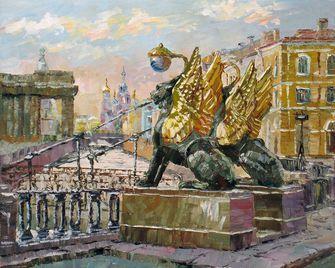 Картина по номерам Paintboy «банковский мост» | Краска ...
