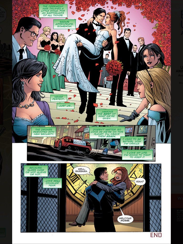 Nightwing and batgirl fanfiction rated m