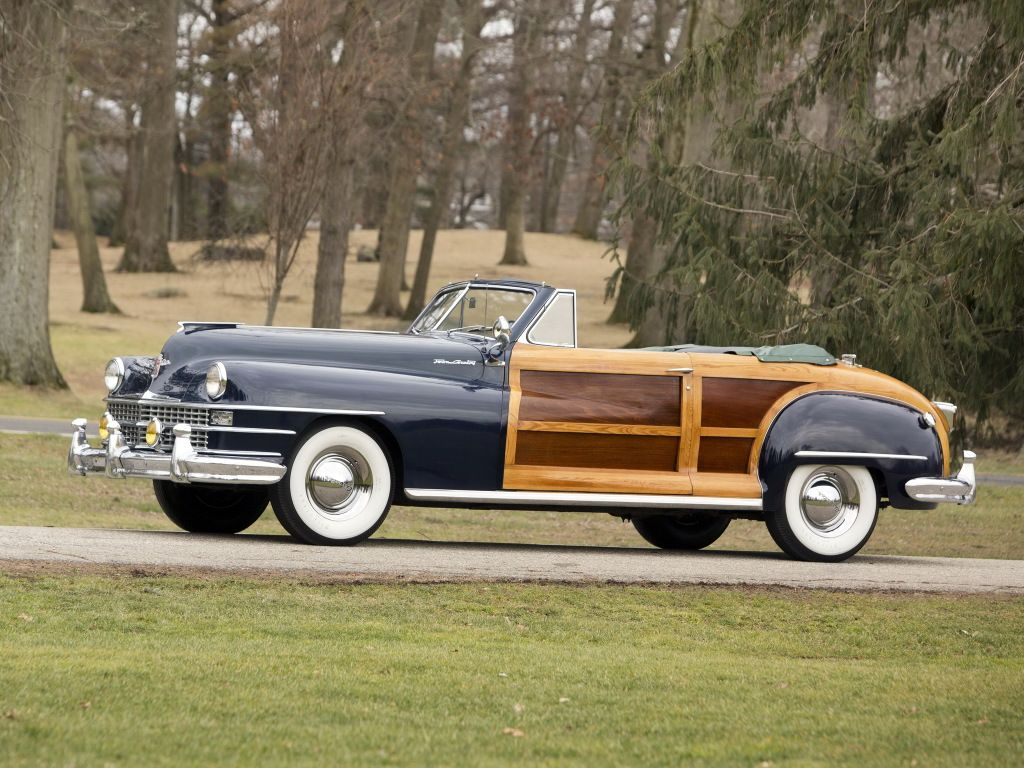 1947 chrysler new yorker convertible coupe town country