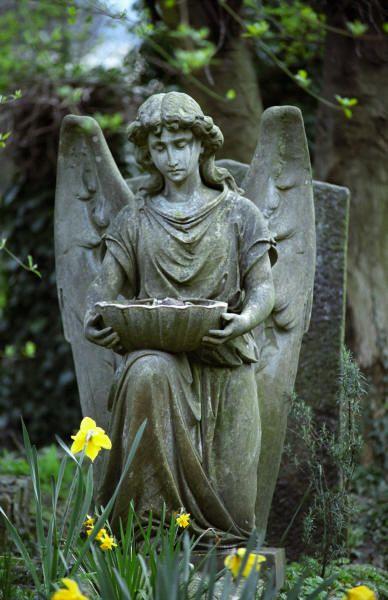 Highgate Cemetery, London. #England #angel #dontblink