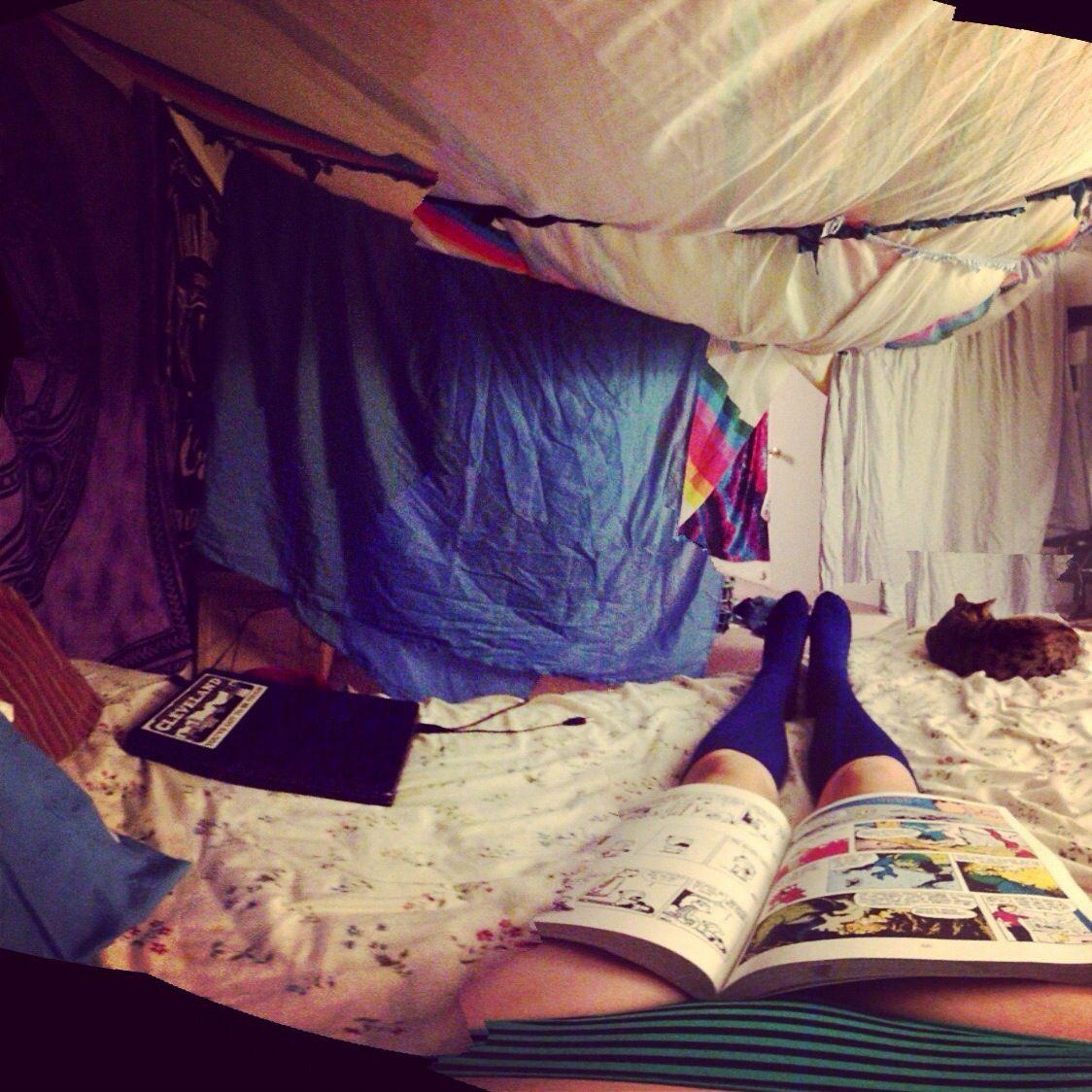 Blanket Fort Calvin Hobbes