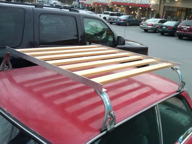 DIY roof rack for $100 | Transport | Roof rack, Car roof racks, Car racks