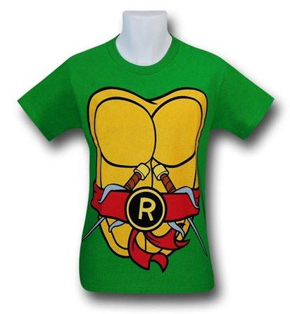 TMNT Raphael Costume T-Shirt Teenage Mutant Ninja Turtles