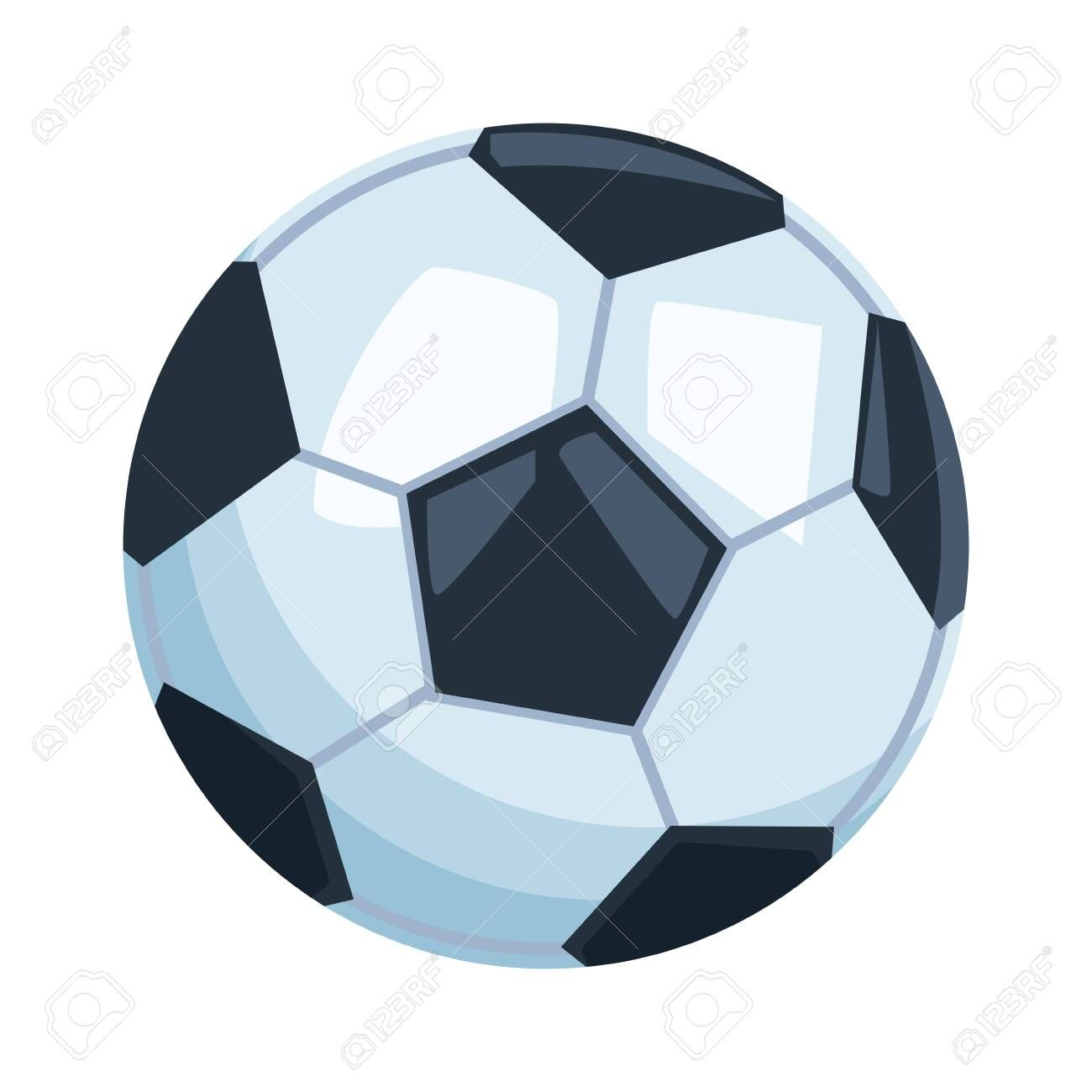 Soccer Balloon Icon Cartoon Isolated Vector Illustration Graphic Design Illustration Spons Graphic Design Illustration Illustration Design Typography Design