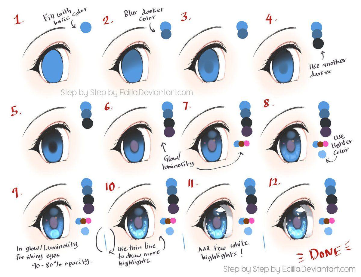 """트위터의 ART In G 자료 봇 님: """"다양한 작가분들의 눈 튜토리얼 #눈 #인체 #튜토리얼 #자료 #아트인지 #Eye #Color #Drawing #Tutorial #Reference #ArtInG https://t.co/mevu2KZmsq"""""""