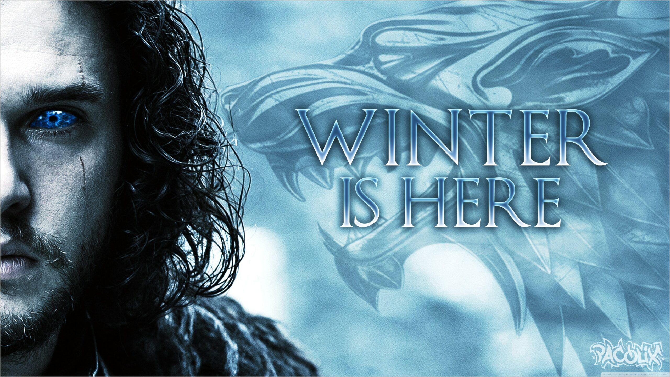 Game Of Thrones 4k Wallpaper In 2020 Winter Is Here Winter Is Coming Wallpaper Game Of Thrones Winter