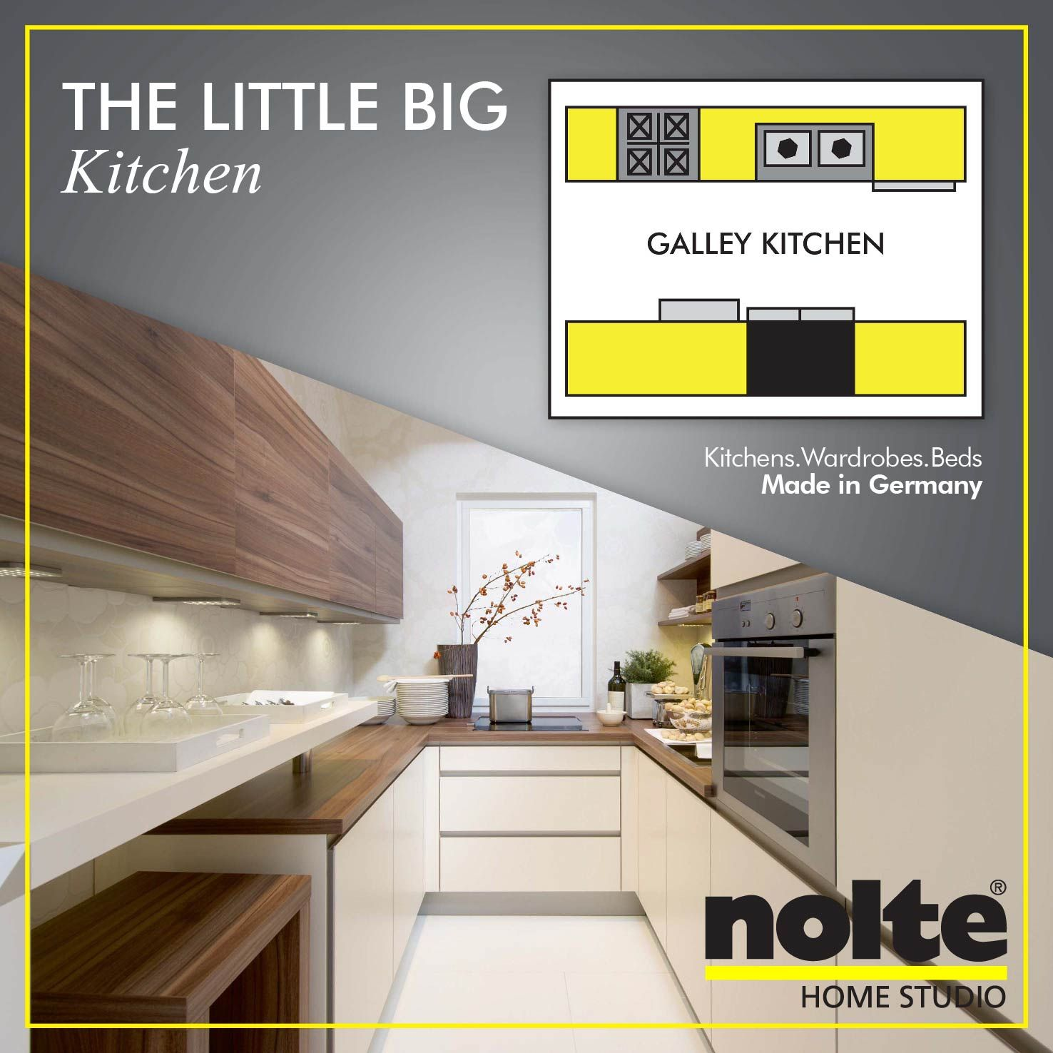 Kitchens based on a galley design make the most of a ...