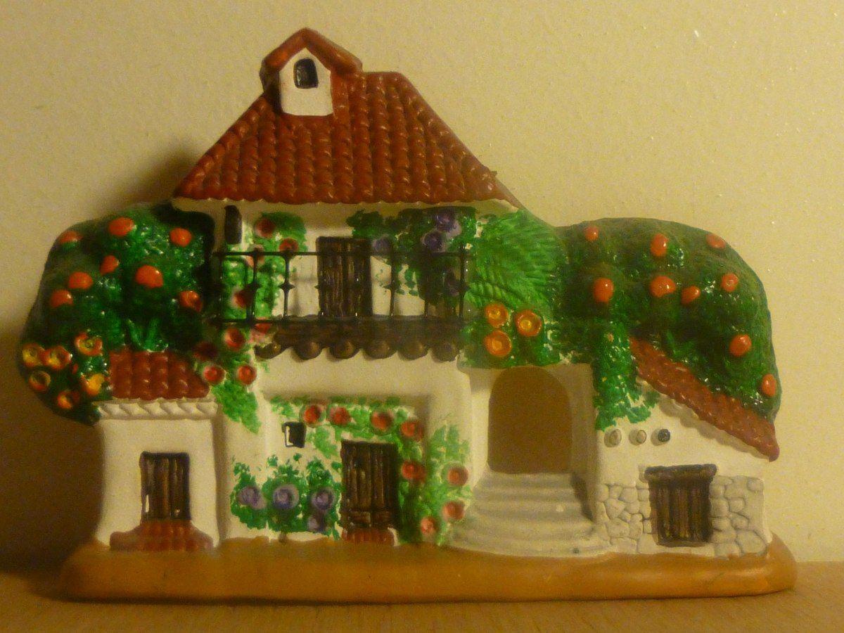 Fachada antigua casa espa ola ceramica artesanal sellada for Fachadas de ceramica