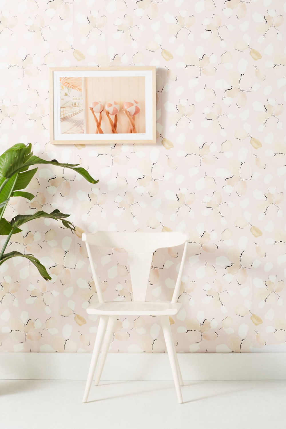 Anthropologie Thin Air Wallpaper in 2020 Temporary