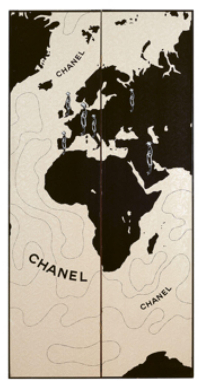 2a32b870 Chanel, A paravent for Chanel Allure, 1996, Auction 1082 ...