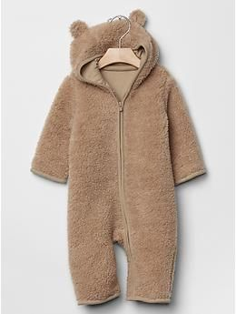 5d070bc44 Sherpa bear one-piece -- Shop online at Baby Gap through Zoola and get cash  back!