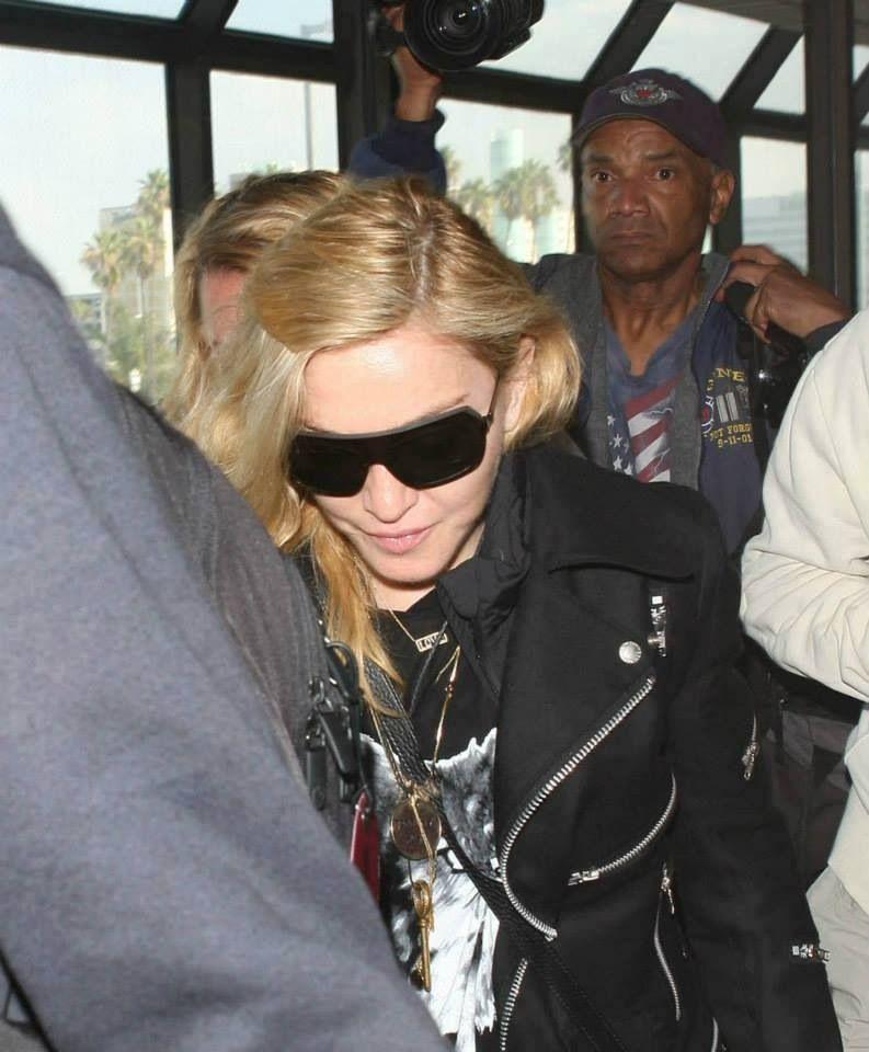 Madonna in LA 11/18/2013