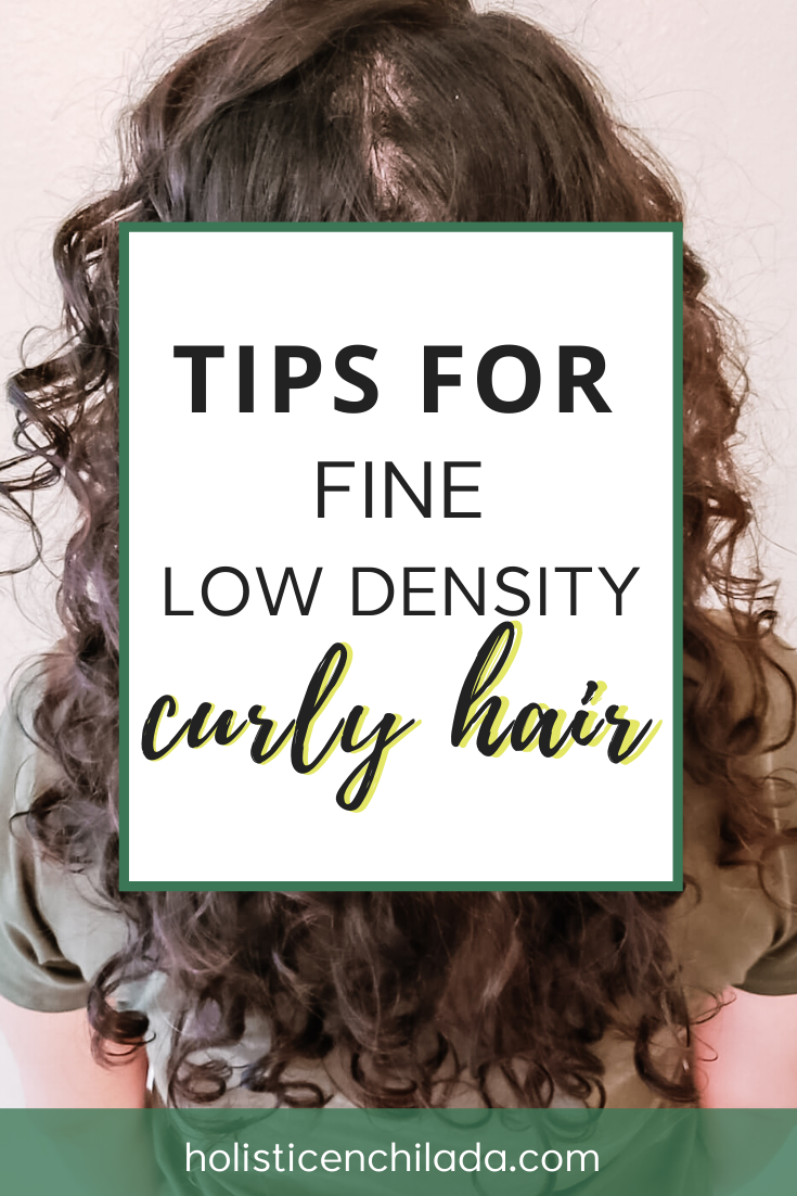 Tips for fine low density curly hair