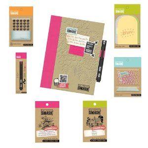 Cutesy SMASH Folio - Click to enlarge | smash book | Smash ... |Smash Folio Journal Kit