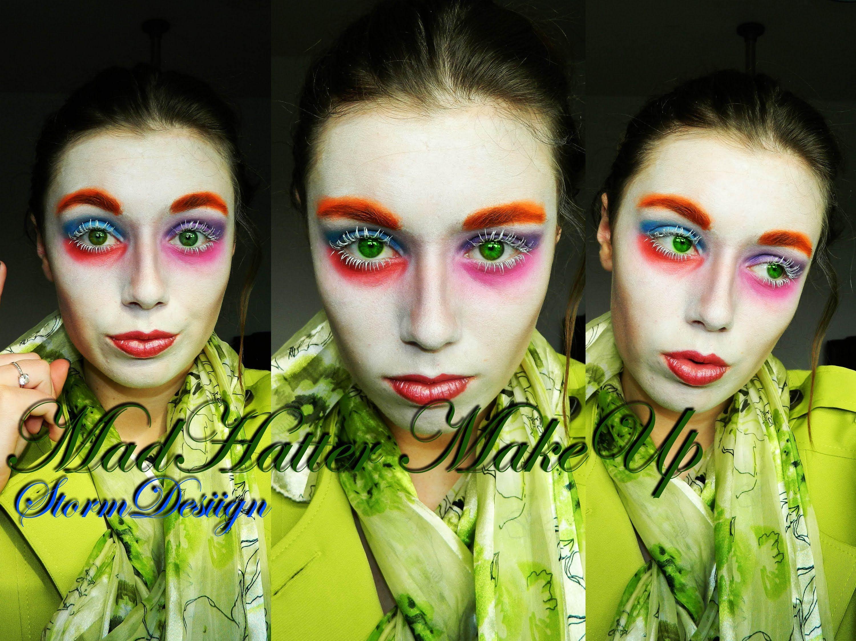 Mad Hatter (Johnny Depp Alice In Wonderland-Tim Burton) MakeUp ...