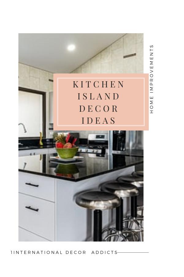 decorate your kitchen island #kitchendecor #kitchendecoration #kitchendecorating #kitchendecoratingideas #kitchenislanddecor