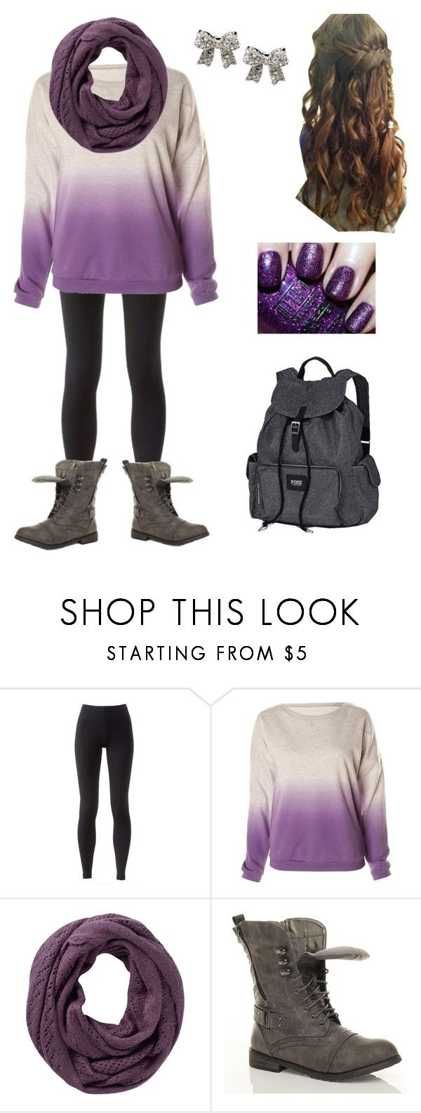 """""""School Outfit #7"""" by acregan ❤ liked on Polyvore featuring NIKE, Fat Face and Victoria's Secret"""