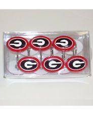 UGA Georgia Bulldogs Shower Curtain Hooks | EBay
