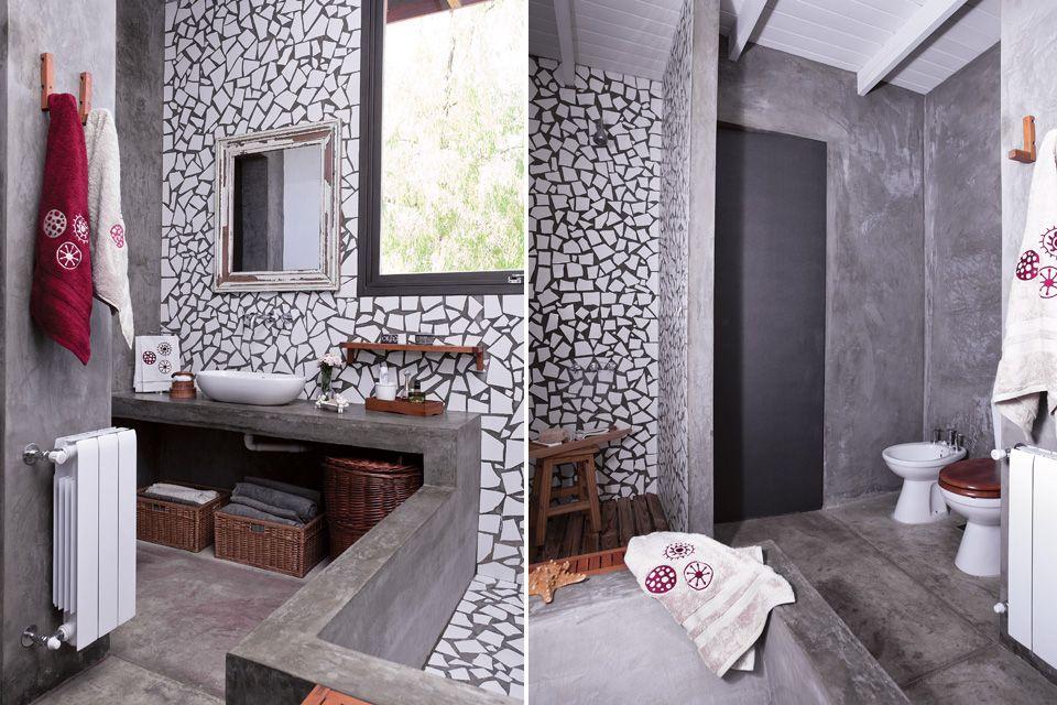 Propuestas para renovar tu ba o hogar deco bathroom for Renovar azulejo bano concreto cera